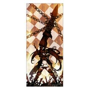Black Rock Shooter. Размер: 60 х 135 см